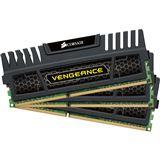 6GB Corsair Vengeance Black DDR3-1600 DIMM CL8 Tri Kit