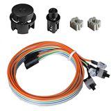 Lian Li schwarze Power-/Reset-Taster für Lian Li PC-A71F