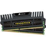 4GB Corsair Vengeance Black DDR3-1600 DIMM CL8 Dual Kit