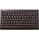 KeySonic ACK-595C+ PS/2 & USB Englisch schwarz (kabelgebunden)