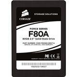 "80GB Corsair Force Series 2.5"" (6.4cm) SATA 3Gb/s MLC asynchron (CSSD-F80GB2-BRKT-A)"