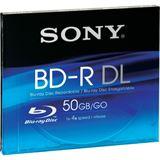 Sony BD-R DL 50 GB 1er Jewelcase (BNR50AV)