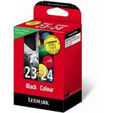 Lexmark Druckkopf mit Tinte 23+24 18C1419E farbig