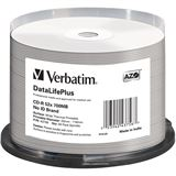 Verbatim CD-R 700 MB bedruckbar (Thermo) 50er Spindel (43756)