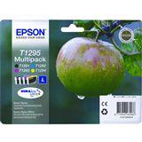 Epson T1295 Tintenpatrone schwarz und dreifarbig hohe Kapazität