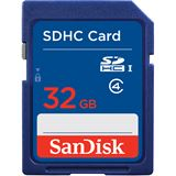 32 GB SanDisk Standard SDHC Class 2 Bulk