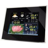"10,4"" (26,40cm) Hama Rahmen+Wetterstation 10,4/ bk"