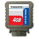 4 GB Transcend Flash Module schwarz USB 2.0