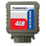 4 GB Transcend Flash Module schwarz USB 2.0