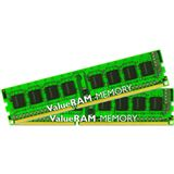 8GB Kingston ValueRAM DDR3-1333 ECC DIMM CL9 Dual Kit