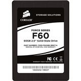 "60GB Corsair Force Series 2.5"" (6.4cm) SATA 3Gb/s MLC asynchron"