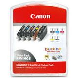 Canon Tinte CLI-8 Multipack 0620B027 schwarz matt, cyan photo,