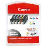 Canon Tinte CLI-8 Multipack 0620B027 schwarz matt, cyan photo, magenta photo, rot, gruen