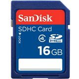 16 GB SanDisk Standard microSD Class 4 Bulk inkl. Adapter