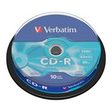 Verbatim CD-R 700 MB 10er Spindel (43437)
