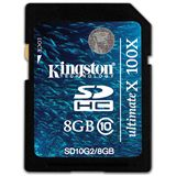 8 GB Kingston Ultimate X SDHC Class 10 Bulk
