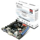 Sapphire Pure White E350 AMD A50M So.FM1 Single Channel DDR3 Mini-ITX