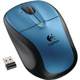 Logitech Maus Cordl.Opt. M305 Peacock Blue USB [bu] rt
