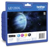 Brother Tinte LC-1280XLVALBP schwarz/cyan/magenta/gelb