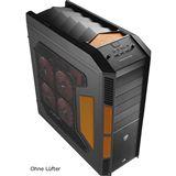AeroCool Xpredator Evil Black Edition Big Tower ohne Netzteil schwarz/orange