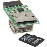 InLine microSD Card Reader Modul Single Slot Kartenleser
