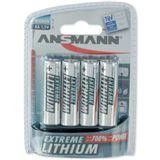 ANSMANN Extreme Lithium FR6 Lithium AA Mignon Batterie 1.5 V 4er Pack