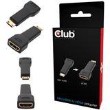 CLUB 3D Adapter Mini HDMI zu HDMI