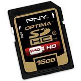 16 GB PNY Optima SDHC Class 4 Bulk