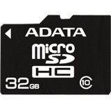 32 GB ADATA Turbo microSDHC Class 10 Retail inkl. Adapter