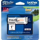Brother TZE-251CIV LAMINATED TAPE 24mm