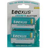 Tecxus® Batterie Alkali Mono D, 2er Folie