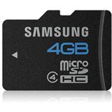 4 GB Samsung Kit Essential microSDHC Class 4 Retail inkl. Adapter