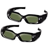 Hama 95561 2x 3D Shutterbrillen - passend für Samsung 3D-TVs