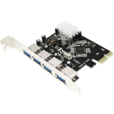 LogiLink PC0057 4 Port PCIe x1 retail