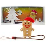 4 GB Bone Gingerman braun USB 2.0
