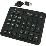 LogiLink Silikon 33 Tasten Keypad für PC/Mac (ID0059)