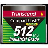 512 MB Transcend Industrial Ultra Compact Flash TypI 200x Retail