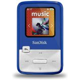 4GB SanDisk Sansa MP3 Clip Zip Blue 4GB (SDMX22-004G-E46B) retai