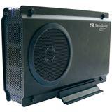 "Sandberg Multi Hard Disk Box 3.5 3.5"" (8,89cm) eSATA/USB 2.0 schwarz"