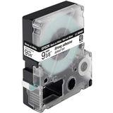Epson C53S624406 Tape (extra stark klebend) 9mm - Schwarz auf