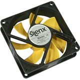 SilenX Effizio Quiet Fan Series 80mm 80x80x25mm 1400 U/min 12 dB(A)