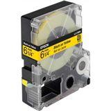 Epson LC-2YBP9 gelb Etikettenkassette (1 Rolle (0.6 cm x 9 m))