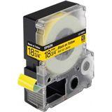 Epson LC-5YBP9 Pastellschwarz auf Gelb Etikettenkassette (1 Rolle (1.8 cm x 9 m))