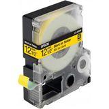 Epson LC-4YBP9 schwarz auf pastellgelb Etikettenkassette (1 Rolle