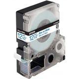 Epson LC-4WLN9 blau auf weiß Etikettenkassette (1 Rolle (1.2 cm x 9 m))