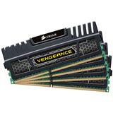 16GB Corsair Vengeance schwarz DDR3-1866 DIMM CL9 Quad Kit
