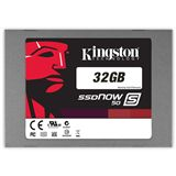 "32GB Kingston SSDNow S50 2.5"" (6.4cm) SATA 3Gb/s MLC asynchron"