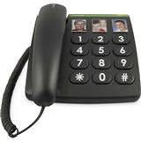 Doro Großtastentelefon PhoneEasy 331ph schwarz
