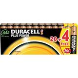 Duracell Plus Power LR03 Alkaline AAA Micro Batterie 1.5 V 24er Pack
