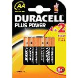 Duracell Plus Power AA / Mignon Alkaline 1.5 V 6er Pack